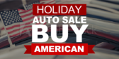 Auto Sales (Buy American) Car Banner