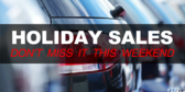 Auto Sales (Holiday Sale) Banner