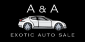 Auto Sale (Exotic Car Sale) Banner
