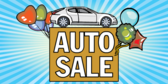 Auto Sale (Hot Prices) Banner