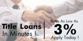Title Loans In Minutes