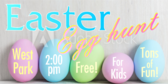 Easter Egg Hunt Message
