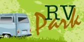 RV Park Grungy Green