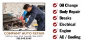 Auto Parts Store Banner