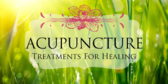 Acupuncture Treatments For Healing