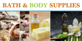 Bath & Body Supply Banner