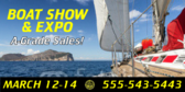 Boat Show & Expo Banner
