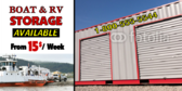 RV & Boat Storage Banner