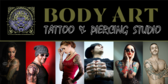 Tattoo & Piercing Banner