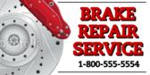 Brake Service Banner