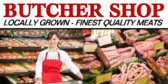 Butcher Shop Services Banner