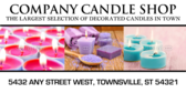 candle store signs