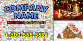 Christmas Candy Store Banner