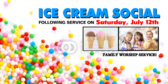 Church Group Ice Cream Social