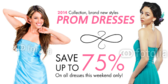 Prom Dress Sale Banner