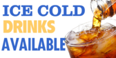 Cold Drinks Banner