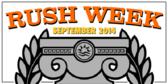 Rush Week Banner