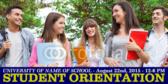 College Orientation Banner