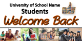 More Welcome Students Back To School Banners
