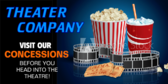 Concession Stand Movie Banner