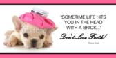 Funny Puppy Quote