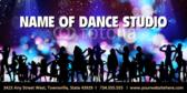 Dance Studio Banner