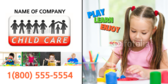 Child Care Promotion Banner