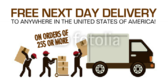Next-Day Delivery Banner