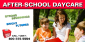 After School Daycare Banner