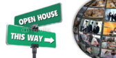 Directional Open House Banner