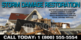 Storm Damage Repair Banner