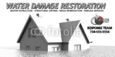 Water Damage Mitigation Banner