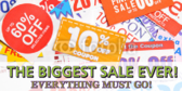 Discount Sign Banner