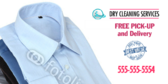Dry Cleaning Banner