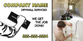 drywall signs
