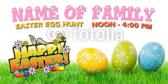 Egg-Hunt Banner
