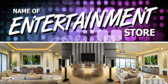 Entertainment Store Banner