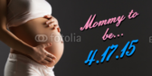 expecting mother signs