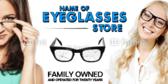 Eyeglasses Store Banner