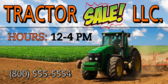 Tractor Sale Banner