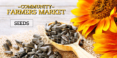 Farmers Market Seeds Banner