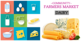 Farmers Market Dairy Banner