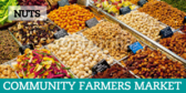 Farmers Market Nuts Banner