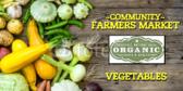 Organic Farmers Market Banner