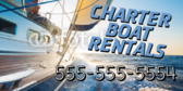 Charter Fishing Rental Banner