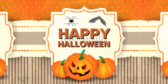 Halloween Gift Tag Banner
