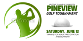 Golf Outing Event Banner