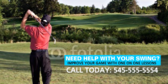 Golf Lessons Banner