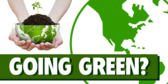 Green-Friendly Banner