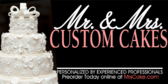 Wedding Cakes (Custom Made)